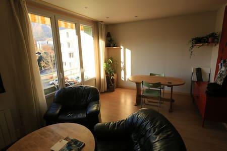 Appart sympa, lumineux, place pour se garer, tram - Apartment