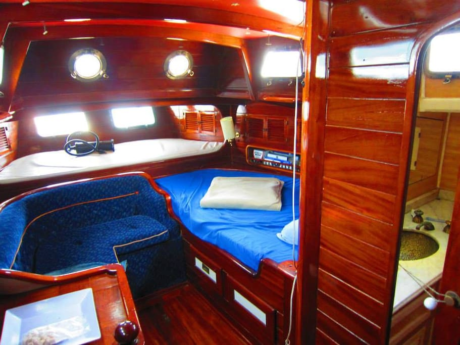 Your cabin on board 1 double bed