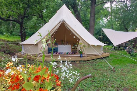 Secluded glamping in Woodbridge - Woodbridge - Tent