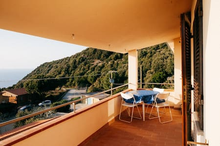 180* view to sea house and terrace - Marciana - Wohnung