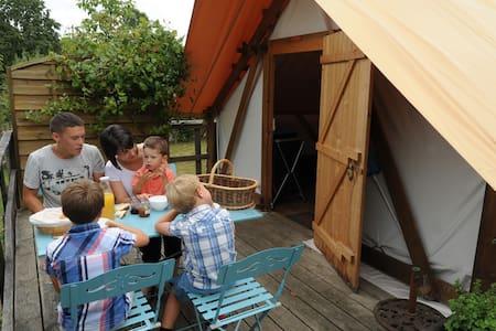 Le camp des trappeurs - Moncoutant - Cabin