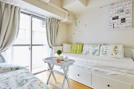 Pure room in Ginza near Tsukiji fish market!! - Chūō-ku - Apartment