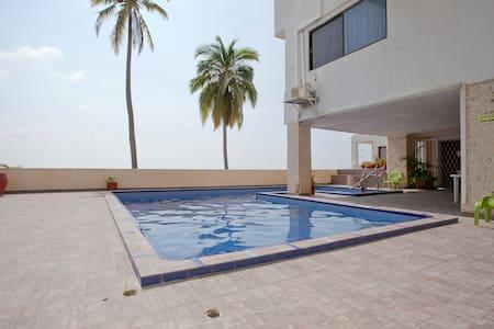 Apartamento completo en Cartagena El Laguito - Cartagena