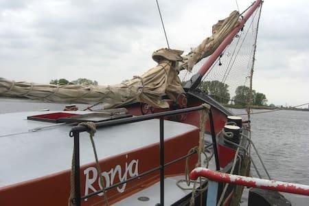 Klabauterbett – Klüverkoje - Boat