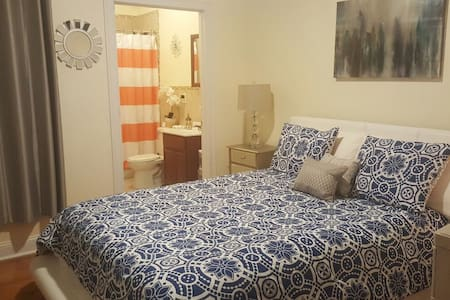 10 mins to NYC| Comfortable BD W/ private Bathroom - Union City - Apartment