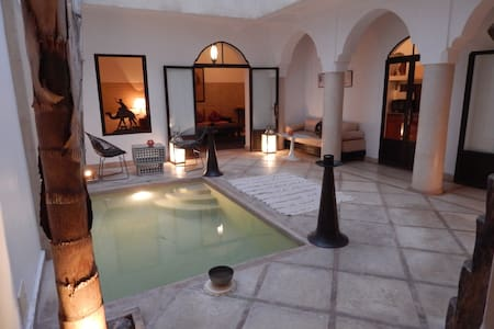 Riad zen et authentique en Médina ! - Townhouse