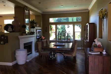 Rm1 w/ beautiful outdoor space & private entrance - San Ramon - Haus