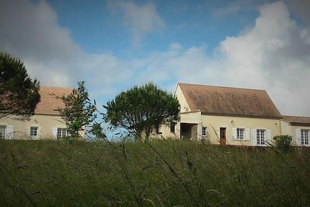 Maison de charme dans un magnifique parc - Saint-Aubin-de-Lanquais - Haus