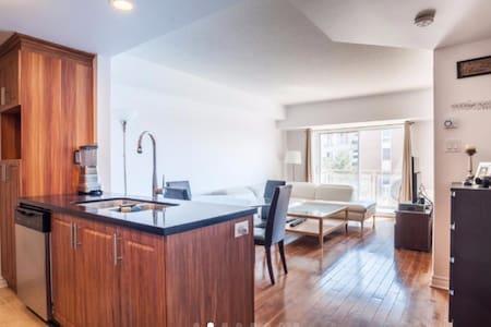 NEW LUXURIOUS CONDO  1BD BALCONY - Montréal - Wohnung