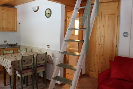 Romantic Studio Flat,near Bormio - Valdidentro
