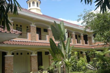 A villa in a village in Yogyakarta.
