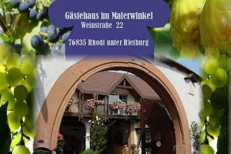 Gästehaus im Malerwinkel - Rhodt - Rhodt unter Rietburg - Appartement