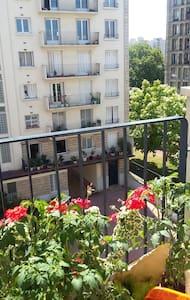 chambre avec balcon a 5mn de paris - Appartement