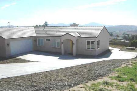 San Diego County Backcountry Home - Ramona