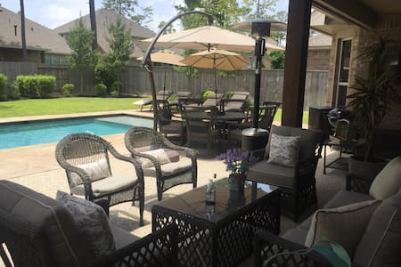 Nice house with pool - Tomball - Maison