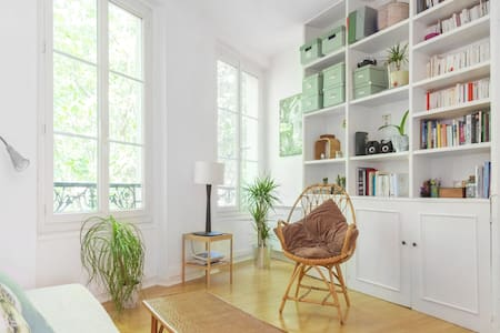 Douillet petit appartement parisien