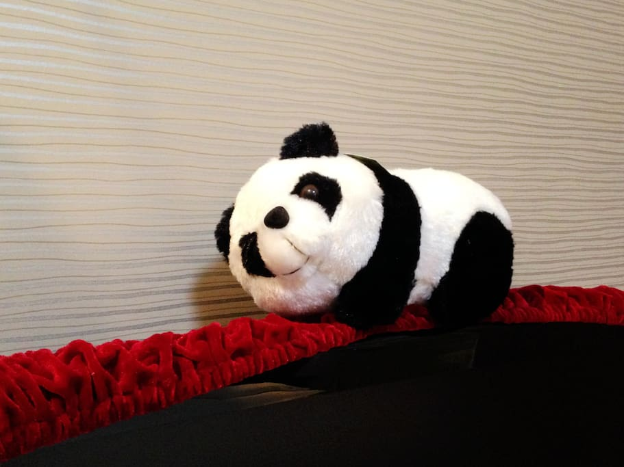 Panda decorations!