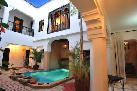 Charming Riad Asna in the old city