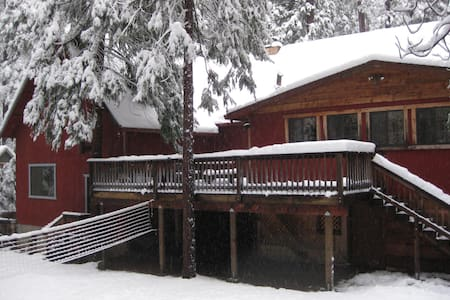 Spacious Cabin/Quiet/Snow&Lake Fun - Mi-Wuk Village - Chalet