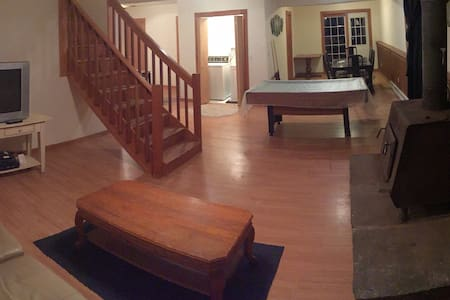 Spacious home minutes from Hunter Mtn. - House