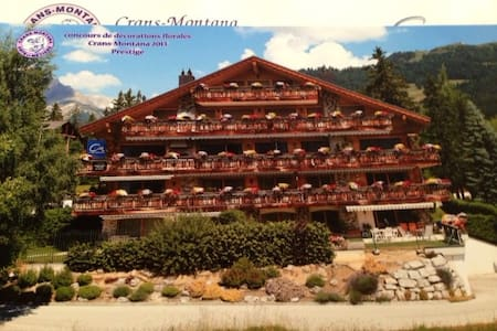 Crans 3 BR Centrally Located Chalet - Chermignon - Apartment
