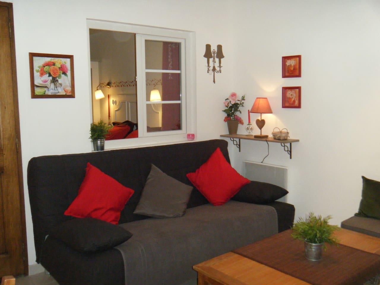 Super T2 meublé, proche Montpellier