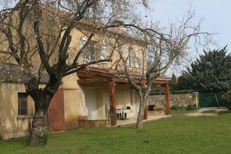 Maison provençale au Pont du Gard - Vers-Pont-du-Gard - Ev