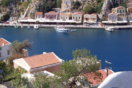 Villa Pavlos Symi - Rumah bandar