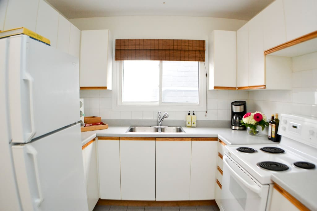 kitchen with everything you may need during your stay