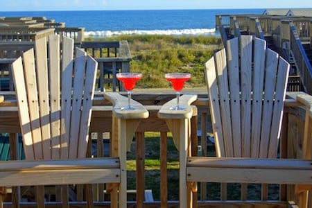 Oceanfront Cabana - Perfect for 2! - Chalet