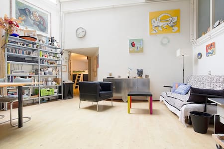 Fantastic artist`s studio in the heart of the city - Amsterdam - Appartement