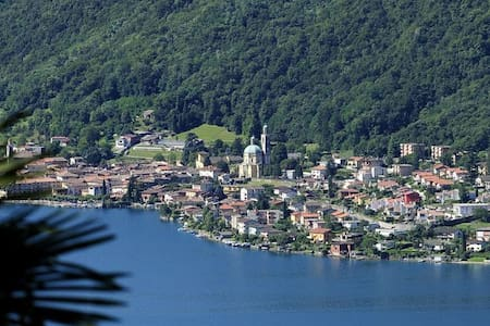 Lake view apartment on Lake Lugano - Apartment