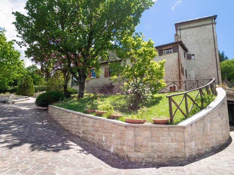La Villa Spoleto