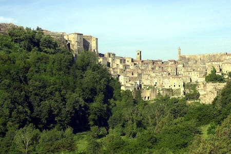 At home in a magic etruscan village - Sorano - Apartment