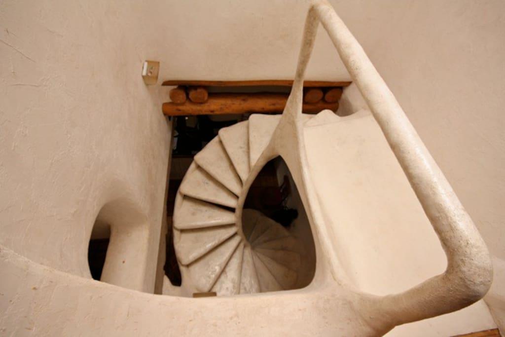 Nautilus Stairs.