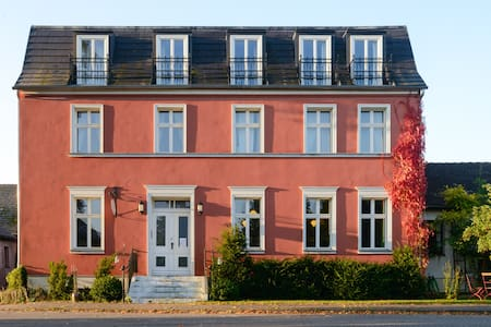 Fuchsbau - wunderschönes Landhaus mit Garten - Rumah