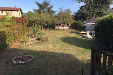 2 chambres au calme avec jardin - Craponne - Ev