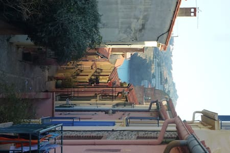 Maison de pecheur rue pittoresque - Collioure