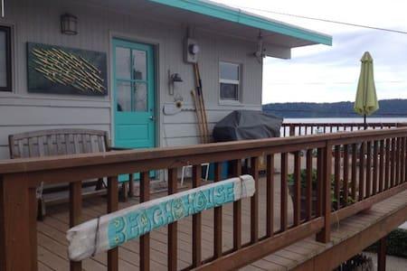 tulalip shores vintage beach cabin - House
