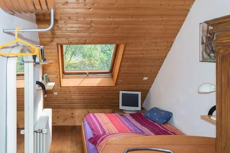 Viel Platz und Terrasse