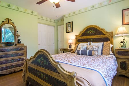 SHABBY-CHIC AMERICANA ROOM - Roseburg - Casa
