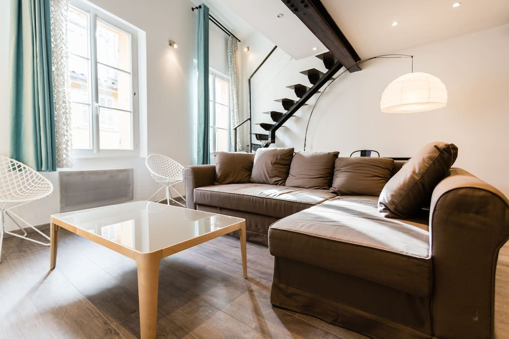 Aix Luxe - Duplex 2 or 4 pers