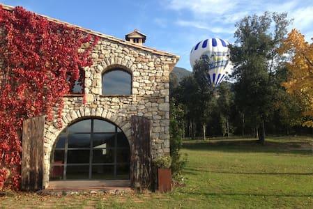 Casa rural acogedora y moderna en Beuda - Beuda - Casa