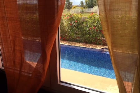 Villa avec piscine et jardin privé - Villa
