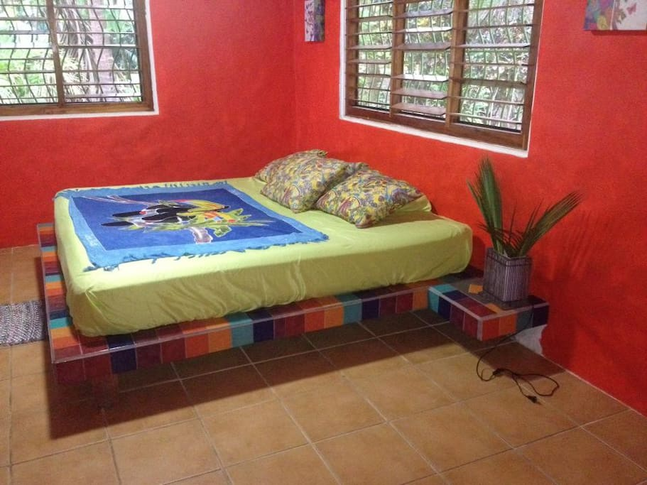 Cabina attached to the house. Both are identical with King size bed and private bathroom