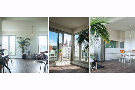 NEW Topfloor Apt. Antwerp Center - Antwerpen - Apartment