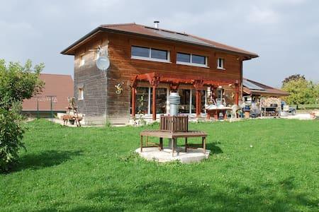 Chambre cosy et cuisine équipée, proximité Genève - Rumah