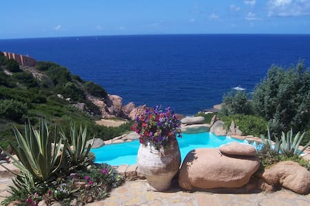 Terrace on the sea - Costa Paradiso - Villa