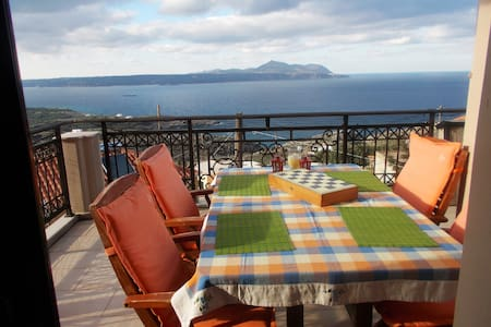 """Dreamy view """"Villa Charoupia"""" - House"""