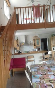 House for 6 or 8 persons - North La Souterrain - Talo